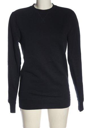 H&M Sweatshirt blau Casual-Look