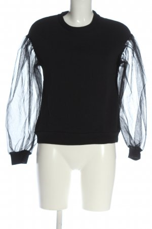H&M Sweat Shirt black casual look