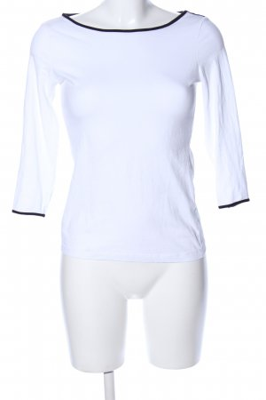 H&M Sweatshirt weiß Casual-Look