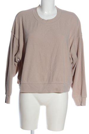 H&M Sweatshirt wollweiß meliert Casual-Look