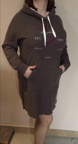 H&M Sukienka dresowa brązowy
