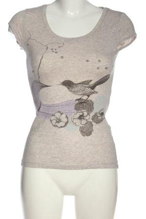 H&M T-Shirt meliert Casual-Look