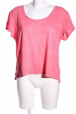 H&M T-Shirt pink Casual-Look
