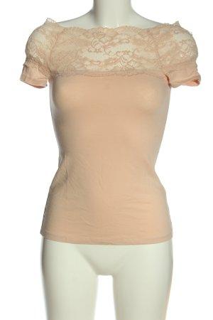 H&M T-Shirt nude schlichter Stil