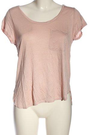 H&M T-Shirt pink meliert Casual-Look