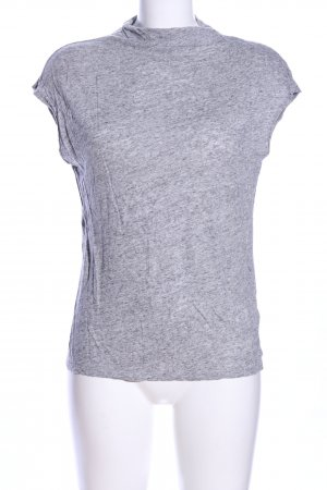 H&M T-shirt jasnoszary Melanżowy W stylu casual