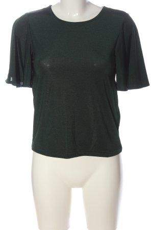 H&M T-Shirt khaki meliert Casual-Look