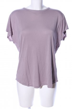 H&M T-Shirt lila Casual-Look