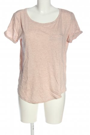 H&M T-Shirt pink-creme meliert Casual-Look