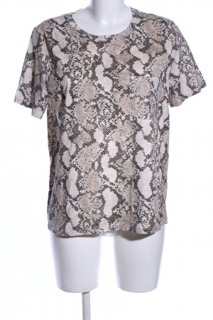 H&M T-Shirt Allover-Druck Casual-Look
