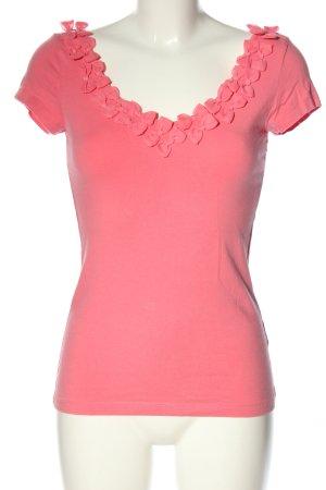 H&M T-shirt różowy W stylu casual