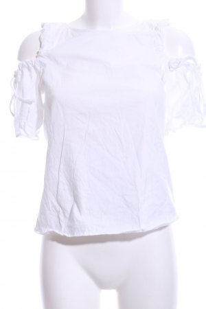 H&M T-Shirt weiß Business-Look