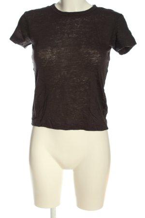H&M T-Shirt braun Casual-Look