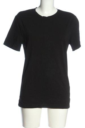 H&M T-Shirt black casual look