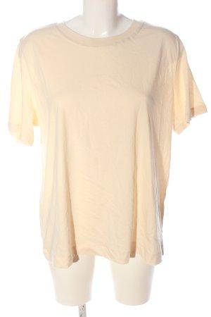 H&M T-Shirt wollweiß Casual-Look