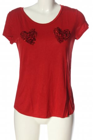 H&M T-Shirt rot Elegant