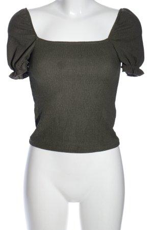 H&M T-Shirt hellgrau Casual-Look