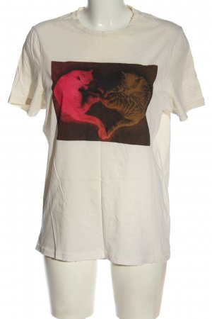 H&M T-Shirt Motivdruck Casual-Look