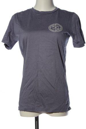 H&M T-Shirt blau-weiß Casual-Look