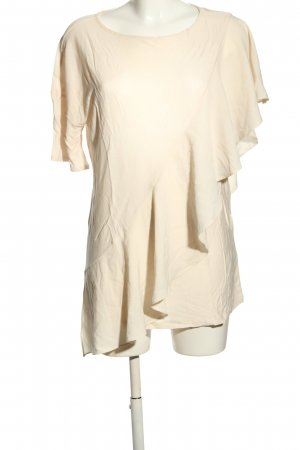 H&M T-Shirt creme Casual-Look