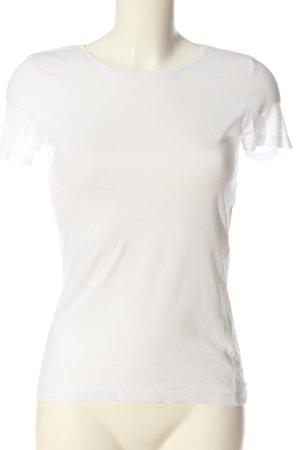 H&M T-Shirt weiß Elegant