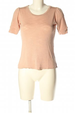 H&M T-Shirt nude meliert Casual-Look