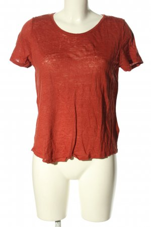 H&M T-Shirt rot Casual-Look