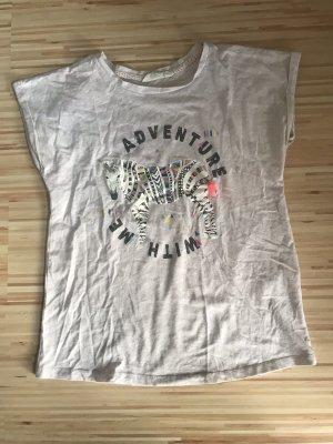 H&M T-Shirt graurosa