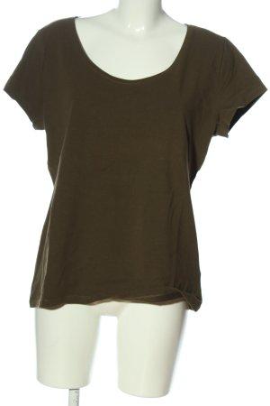 H&M T-Shirt khaki Casual-Look