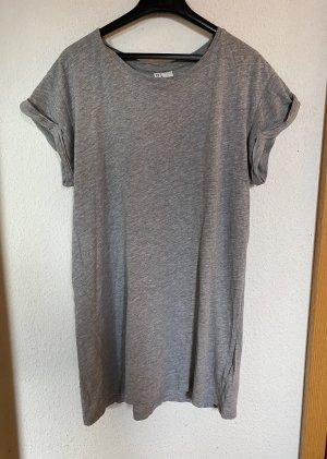 H&M Robe t-shirt gris-gris clair