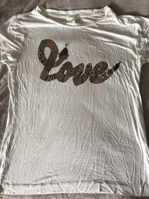 "H&M T-Shirt ""LOVE"""