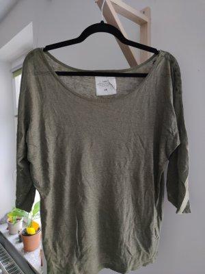 H&M T-Shirt mit halblangen Ärmeln