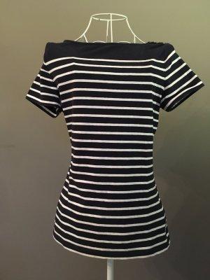 H&M T-Shirt mit U-Boot-Ausschnitt