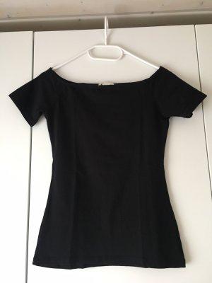 H&M T-Shirt mit U-Bootausschnitt