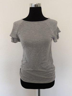 H&M T-Shirt mit Volantärmel