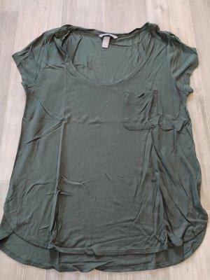 H&M T-Shirt khaki