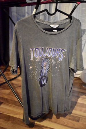 "H&M T-Shirt ""Toujours"""