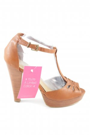 H&M T-Steg-Pumps hellorange Casual-Look