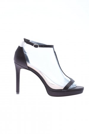 H&M T-Steg-Pumps schwarz Casual-Look