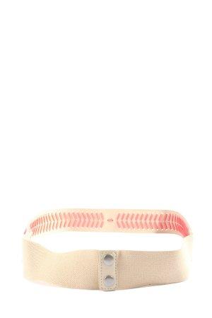 H&M Cinturón pélvico crema-rosa estampado gráfico look casual