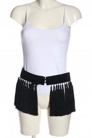 H&M Waist Belt black extravagant style
