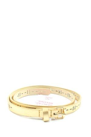 H&M Waist Belt gold-colored wet-look