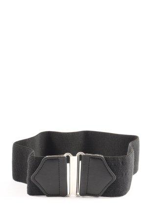H&M Cinturón pélvico negro look casual