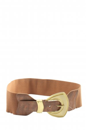 H&M Cinturón pélvico marrón look casual