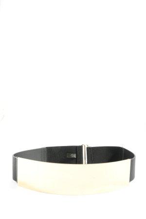 H&M Cintura vita bianco-nero stile casual