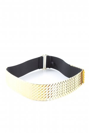 H&M Waist Belt black-gold-colored casual look