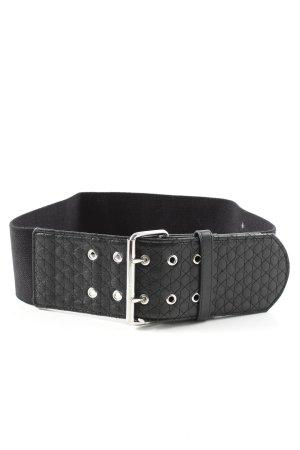 H&M Taillengürtel schwarz Casual-Look