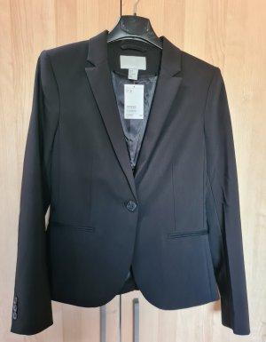 H&M Taillierter Blazer schwarz Größe 36 Neu mit Etikett NP 39,95