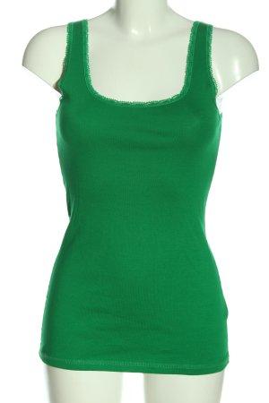 H&M Tanktop grün Casual-Look
