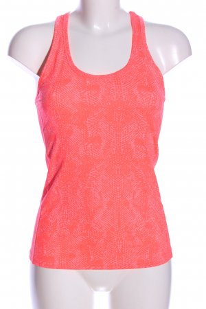 H&M Tanktop pink Allover-Druck Casual-Look